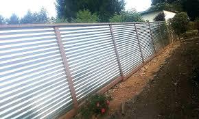 wood framed corrugated metal fence plans fencing specialists cost vs rug designs n me