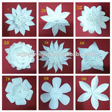 Homemade Paper Flower Decorations Giant Paper Flower Wall Backdrop Decoration Buy Paper Flowers