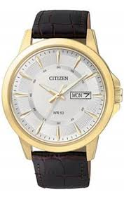 buy citizen quartz watches shipping on citizen quartz citizen quartz mens gold tone stainless steel brown leather band buckle clasp watch bf2018