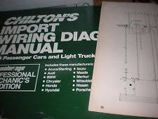 isuzu impulse 1989 isuzu impulse wiring diagrams schematics manual sheets set