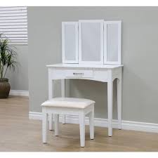 image of white makeup desk vanities