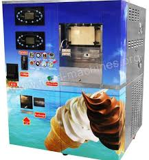 Yogurt Vending Machine Gorgeous Automatic Soft Icecream Vending Machine Is Suitable For Making Ice
