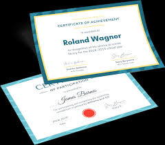 Templates For Certificates Free Certificate Maker Create Certificates From Templates