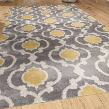 awesome yellow and grey rug com moroccan trelli yellow area rug grey and canada