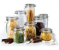 Kitchen Storage 4sets Airtight Baby Food Glass Jar