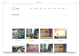 Art Gallery Website Template For Fine Sites Picture