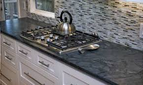 among natural stone countertops soapstone is arguably the most organic looking of the bunch its soft and silky smooth unpolished surface is perfectly
