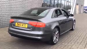 black audi a4 2015. Contemporary Black DA15WTE AUDI A4 TDI S LINE BLACK EDITION NAV GREY 2015 Leicester Audi   YouTube In Black 2015 I