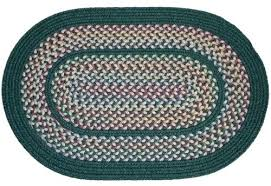 oval rugs 7x9 tapestry braided hunter green rug by oval rugs 7x9