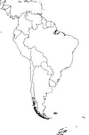Unlabeled Map Of Latin America And Travel Information Download