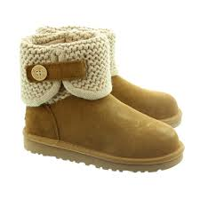 skechers ugg boots. ugg kids darrah knit boots in chestnut skechers