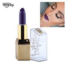 color of joy ultra matte lipstick violet creamy velvet lip stick makeup moisturizing 24 hours long