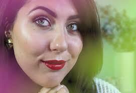 green bunny ashley holiday makeup look
