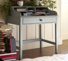 secretary desks for small spaces. Jacqueline Bedside Secretary Desk Blue Traditional Nightstands Desks For Small Spaces S