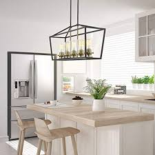 emliviar modern 5 light kitchen island