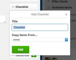 Creating A Checklist Adding Checklists To Cards Trello Help