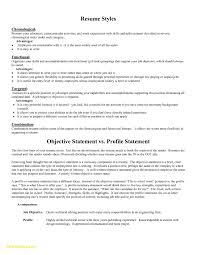 Great Resume Objective Statements Examples New Sample Resume