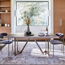 concrete dining table. Tower Dining Table - Concrete N