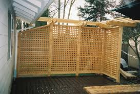 interior winsome to build an outdoor privacy screen with lattice wood patio screens plastic wooden lattice