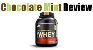 optimum nutrition chocolate mint review with pictures