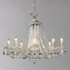 buy john lewis ophelia crystal chandelier 8 light online at johnlewiscom chandelier lights online t88