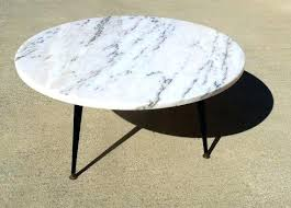 round marble coffee tables marble coffee table round mid century mode marble top coffee table canada