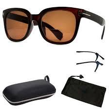 Designer Sun Readers Fashion Designer Sun Readers Women Bifocal Sunglasses Reading Glasses All In One Style B Brown 3 5