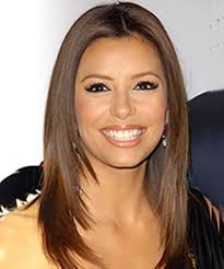 eva longoria straight haircut