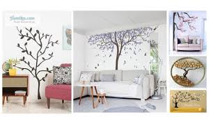 how to make your home decor look elegant and away from the monotony and dullness how about using trees or even tree branches as a basis for wall decor