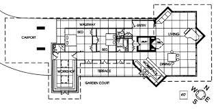 Princeton Frank Lloyd WrightInspired Masterpiece La Maison De Frank Lloyd Wright Home And Studio Floor Plan