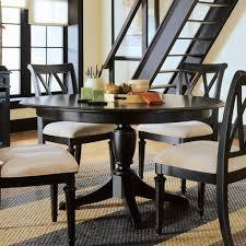 glass top kitchen table all dining room square and chairs wood set with white circle round black dinette for small metal base inch