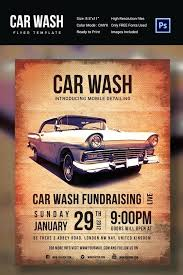 Car Wash Fundraiser Template Free Flyer Templates On Print Ad ...