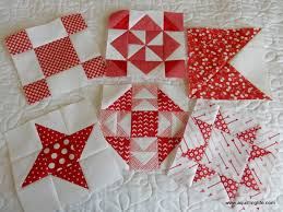 Works in Progress: Red and White Quilt | A Quilting Life - a quilt ... & I was about half way through with section D when I left off 18 weeks ago (I  can't believe it had been that long, so it's definitely time to get this  one ... Adamdwight.com