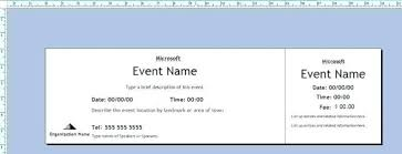 Event Ticket Template Word Microsoft Word Event Ticket Template Allthingspropertyinfo