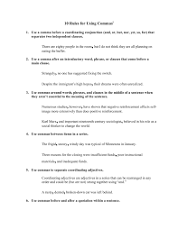 10 Rules For Using Commas William Peace University Fliphtml5