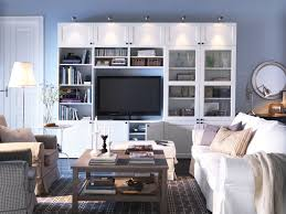 White Cabinet Living Room Tv Stands Outstanding Modern Bookcase Tv Stand Combo Photo