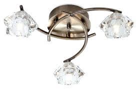 brass ceiling lights antique brass 3 light flush ceiling light lighting brass ceiling lights homebase