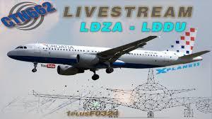 X Plane 11 40 Flight Factor A320 Into Dubrovnik Zagreb To Dubrovnik Ldza Lddu