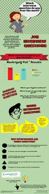 which interview question do you fear the most com infographic job interview questions