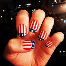 4th of july nails cute nail art and