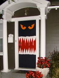 8 Photos of the Halloween Door Decorating Ideas
