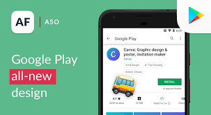 Designed For Phones Google Play Google Play Store Biggest Redesign Is It Aso Friendly
