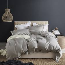 3pcs concise <b>nordic style</b> bedding set twin queen king size quilt ...