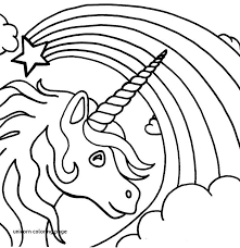 Cute Unicorn Coloring Pages Inspirational Collection Printable