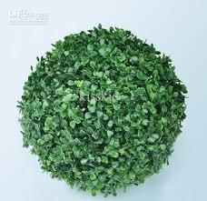 Decorative Boxwood Balls 100 100cm Plastic Green Grass Ball Artificial Boxwood Ball Outdoor 32