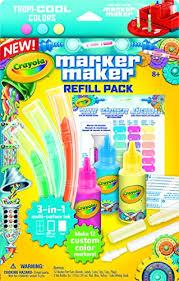 Crayola Marker Maker Refill Pack Enough For 12 Custom Tropi