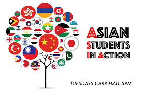 Asian students in action