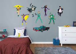 batman classic comic book collection large officially licensed dc removable wall decals fathead wall