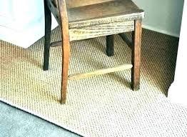 rug under desk chair deign bet by