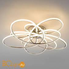 Купить потолочный <b>светильник Eurosvet</b> Spring <b>90143/5 хром</b> с ...